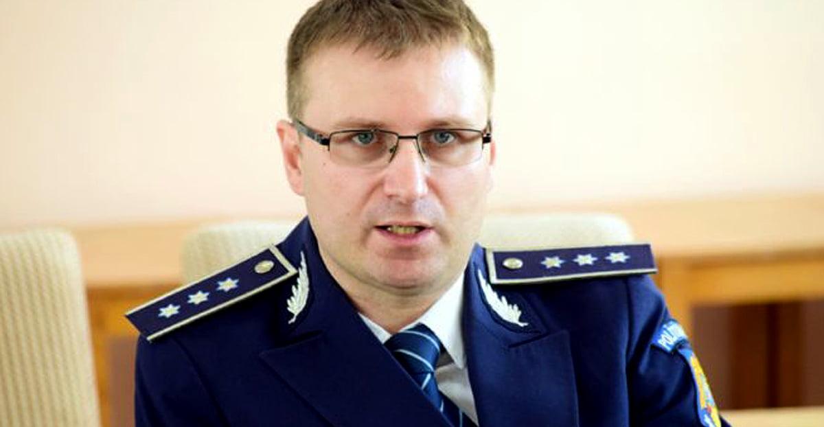 Fostul șef de la Rutieră, Ciprian Sobaru este noul adjunct al IPJ Constanța