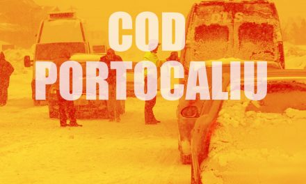 ANM a emis un cod portocaliu de viscol valabil în tot județul Constanța