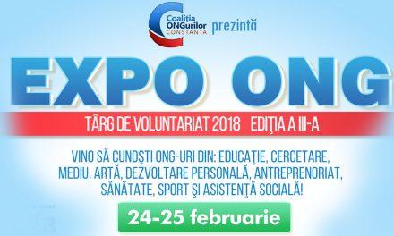 Programul compet al târgului de voluntariat EXPO ONG din acest weekend