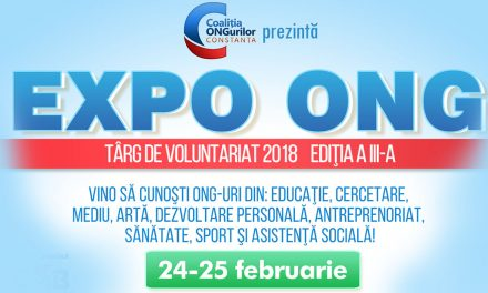 Târg de voluntariat la Constanța. 17 asociații se prezintă la EXPO ONG