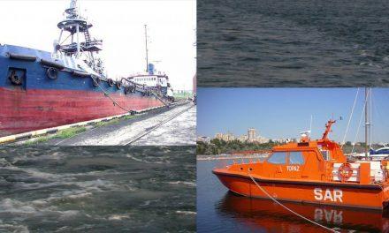 Tanc petrolier, la un pas de scufundare în Marea Neagără. Echipajul a fost salvat
