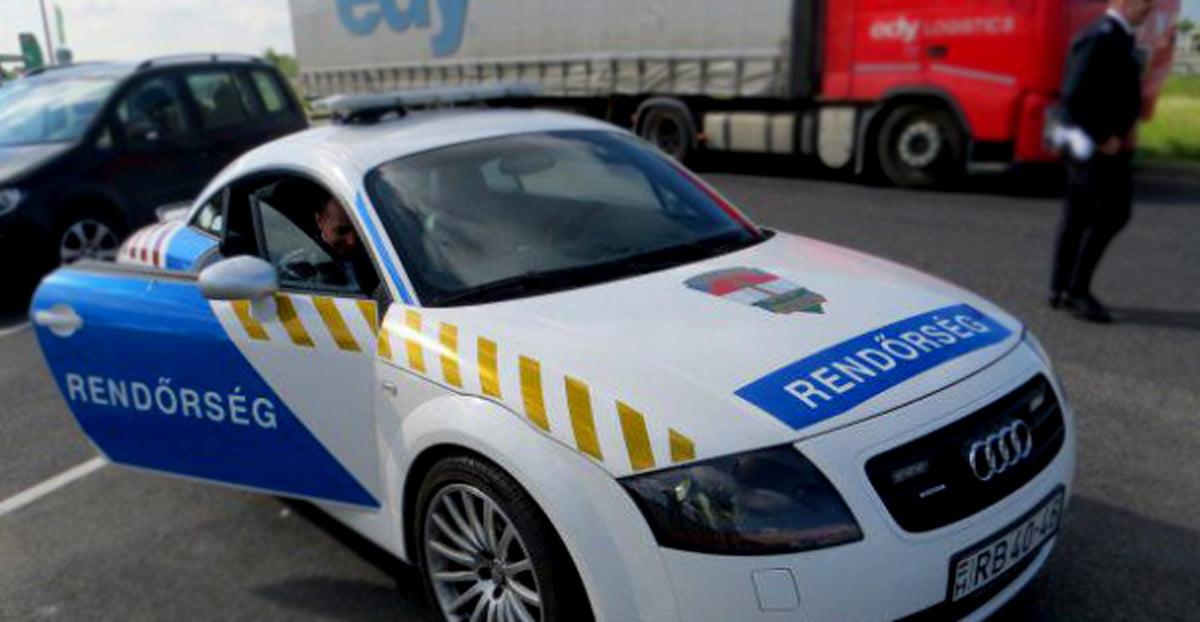 Un român și-a uitat soția într-o parcare din Ungaria