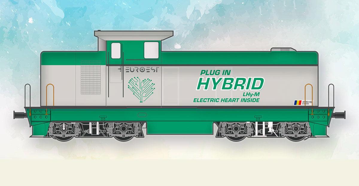 Premieră mondială. Prima locomotivă hibrid a fost lansată la Constanța!