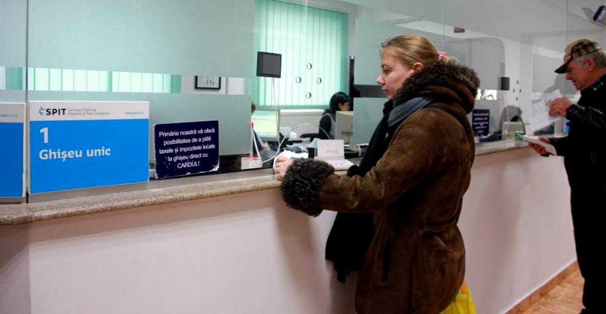 Un nou ghișeu de impozite și taxe în Constanța