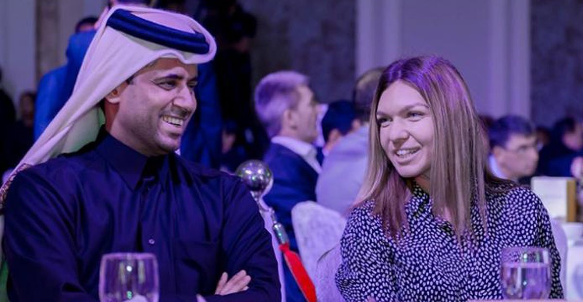 Simona Halep, la masă cu miliardarul care conduce clubul Paris Saint-Germain