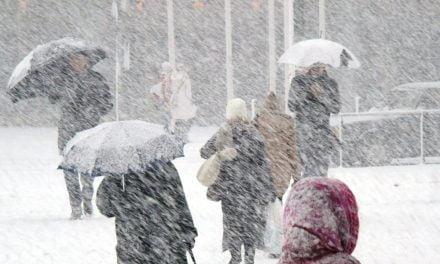 COD GALBEN la Constanța. Se așteaptă ninsori, vânt puternic și vreme foarte rece