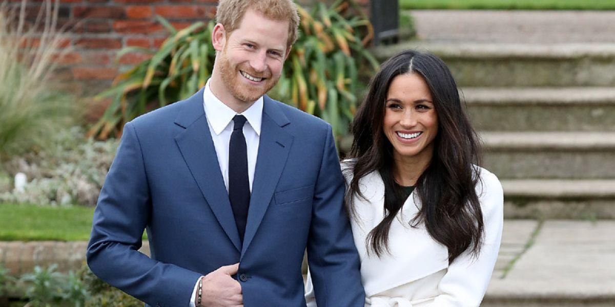 Prințul Harry și Meghan Markle, țintele unui act de rasism