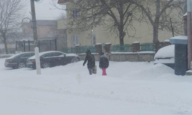Constanța, COD PORTOCALIU de ninsoare și viscol. Tulcea intră sub COD ROȘU