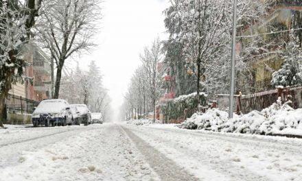 Constanța, sub avertizare meteo de ninsori și ger până pe 1 martie