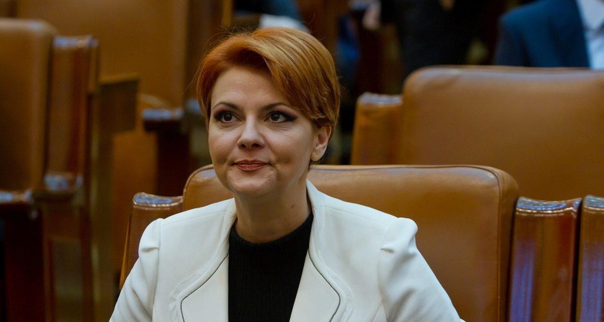 """Se cere demisia ministrului Muncii, Olguța Vasilescu. Bogdan Huțucă: """"Ar fi un argument mult mai solid în vederea îndreptării derapajelor fiscale"""""""