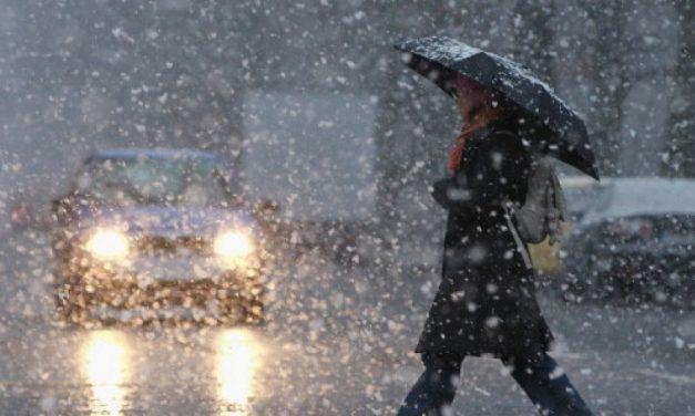 Constanța, sub avertizare meteo! Urmează două zile de ploi, apoi lapoviță și ninsoare