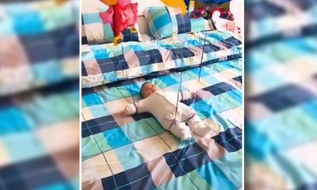 Bebelușul care a strâns 13 milioane de vizualizări pe Facebook. VIDEO
