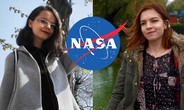 Două eleve din Constanța au câștigat marele premiu la NASA cu un proiect de turism spațial