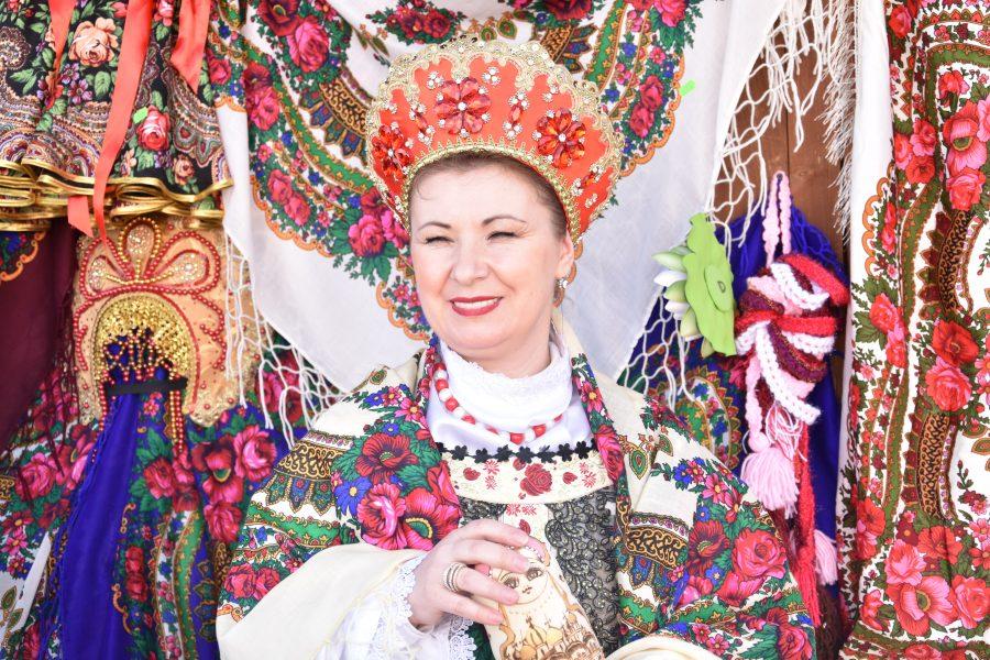 Valentina Köker, reprezentantă a Comunității Rușilor Lipoveni din Dobrogea.