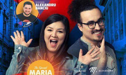 Stand-up comedy cu Maria Popovici, Mincu și Banciu