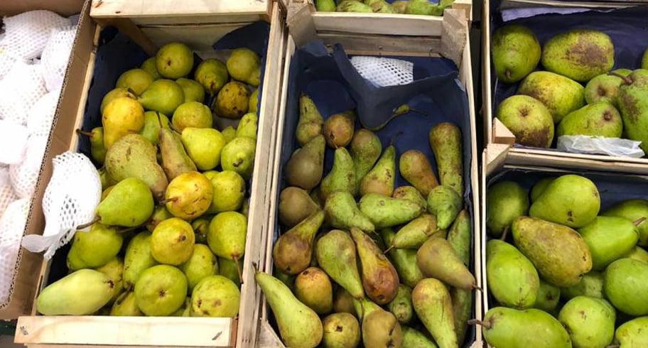 Peste 100 kilograme de legume și fructe, retrase de OPC din Auchan