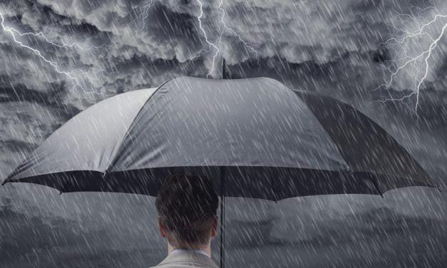 COD GALBEN de ploi și descărcări electrice la Constanța!
