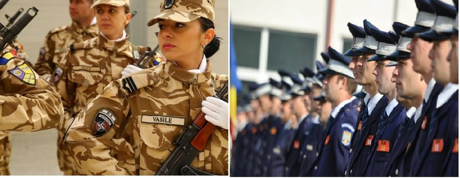 MAI: Vești importante pentru militari și polițiști. Salariile au crescut de la 1 ianuarie, orele suplimentare se plătesc integral, toate sporurile rămân intacte