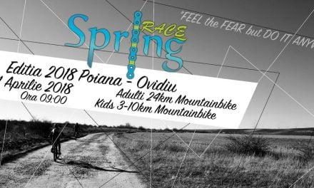 Sute de bicicliști se vor întrece la Spring Race 2018, la Ovidiu