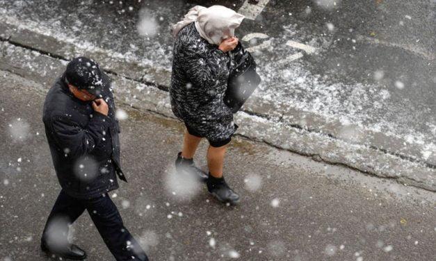 Val de aer polar lovește Constanța. Temperaturile vor scădea de la 10 grade la – 6 în doar câteva ore