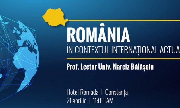 """Dezbatere la Constanța, organizată de tinerii liberali, pe tema """"România în contextul internațional actual"""""""