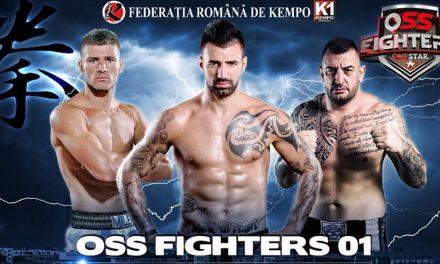 Super-gală OSS Fighters, la Sala Sporturilor Constanța. Bogdan Stoica, Cristian Milea și Marian Rusu urcă în ring