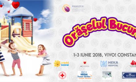 VIVO Constanța organizează Orășelul Bucuriei, un eveniment dedicat celor mici