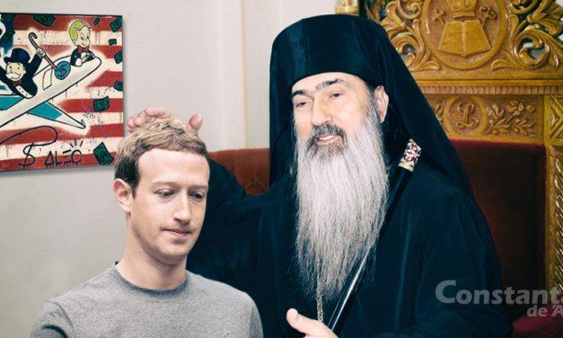 """ÎPS Teodosie l-a consolat pe Zuckerberg după ce averea i-a scăzut la 65 de miliarde de dolari: """"Sărăcia nu este o ruşine"""""""