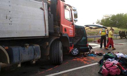 """Mesajul MAI după tragedia rutieră din Ungaria: """"Teribilismul vostru poate face ca această imagine să fie ultima amintire a familiei despre voi!"""""""