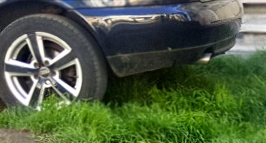 Șoferii care au parcat pe spațiul verde, amendați de Poliția Locală