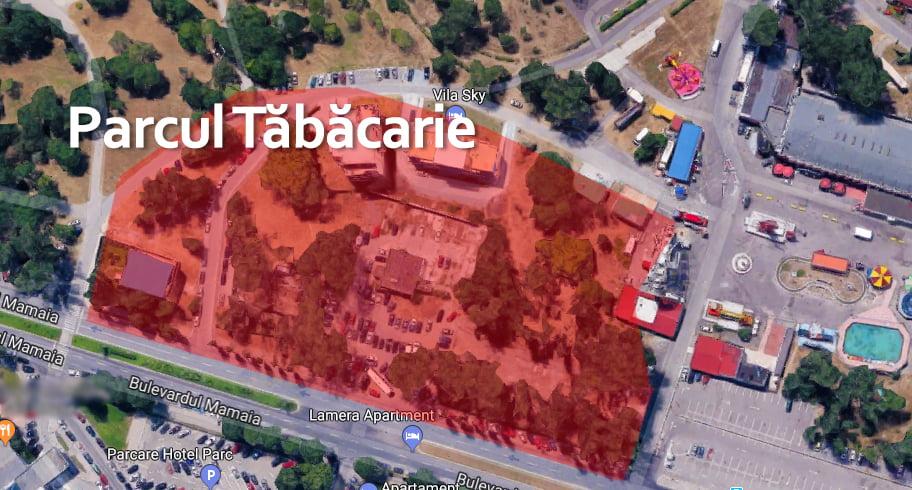 Protest împotriva distrugerii spațiilor verzi din parcul Tăbăcărie pentru construirea de blocuri