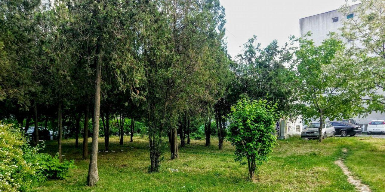 O nouă încercare de distrugere a spațiilor verzi din Constanța. Un bloc de patru etaje va fi construit în zona Aurel Vlaicu