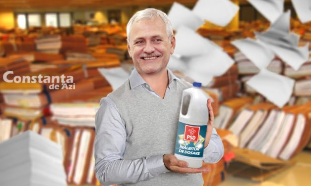 PSD a scos pe piață noul Înălbitor de Dosare! Pute, dar își face treaba