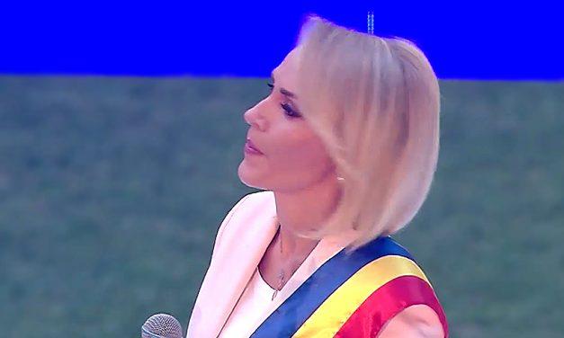 VIDEO. După ce a fost huiduită pe Arena Naţională, Gabriela Firea şi-a închis pagina de Facebook