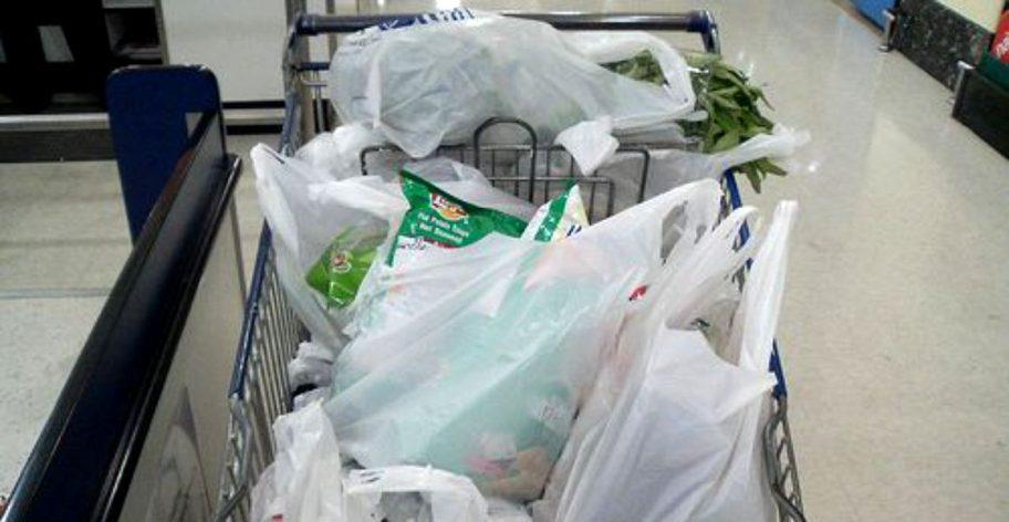 Pungile de plastic dispar din România începând cu această vară