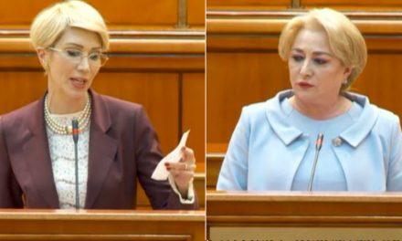 """Raluca Turcan despre discursul Vioricăi Dăncilă. """"Cineva și-a bătut joc groaznic de dumneavoastră. Ați ridicat minciuna la grad de artă"""""""