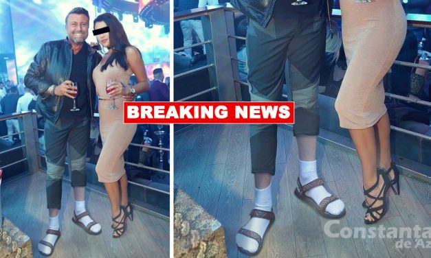 Sandalele cu şosete sunt nebunia verii, după ce Botezatu le-a purtat într-un club din Mamaia