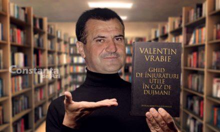 """Primarul Valentin Vrabie a lansat cartea """"Ghid de înjurături utile în caz de dujmani"""""""