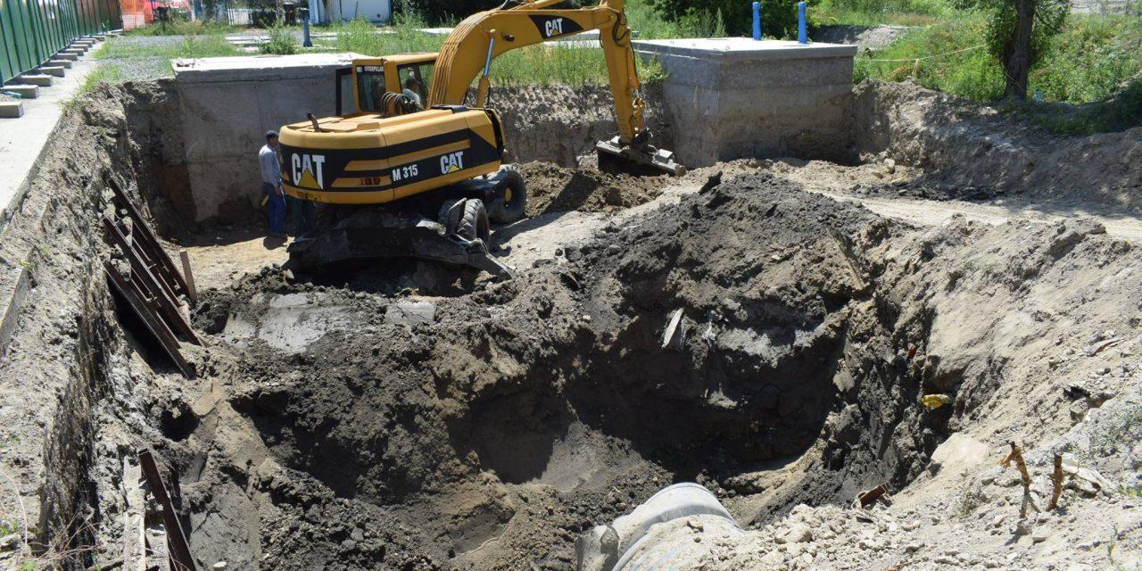 """Cernavodă – se reiau lucrările în proiectul """"Protecția împotriva inundațiilor a orașului Cernavodă, în zona centrală"""""""