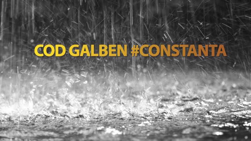 O nouă avertizare meteo pentru Constanța, Ovidiu, Năvodari și alte localități. Se anunță ploi însemnate cantitativ