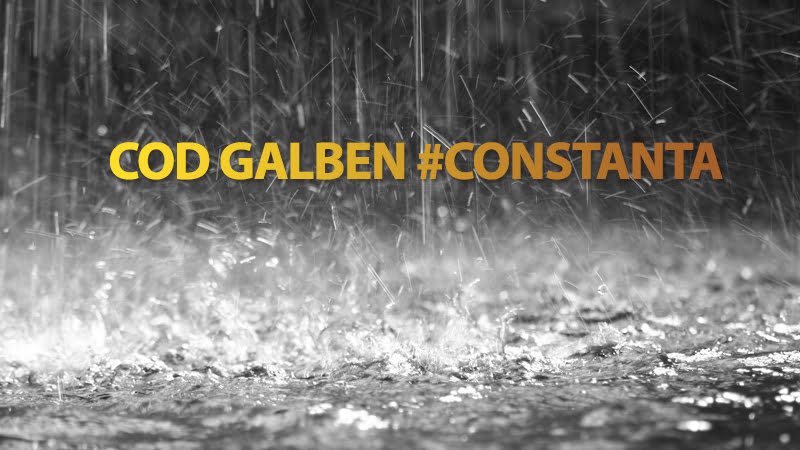 COD GALBEN de vreme instabilă la Constanța