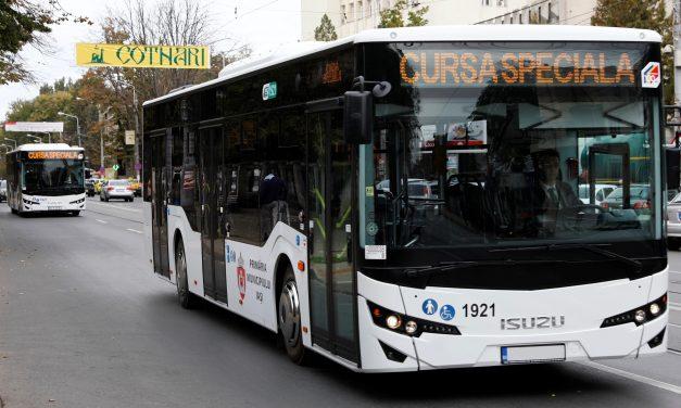 Programul autobuzelor RATC în minivacanța de Paște și 1 Mai
