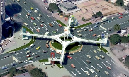 Intersecția de la Cora – Pod Butelii, cu pasarele suspendate, pasaje subterane și pod cu trotuare. Ați văzut-o?
