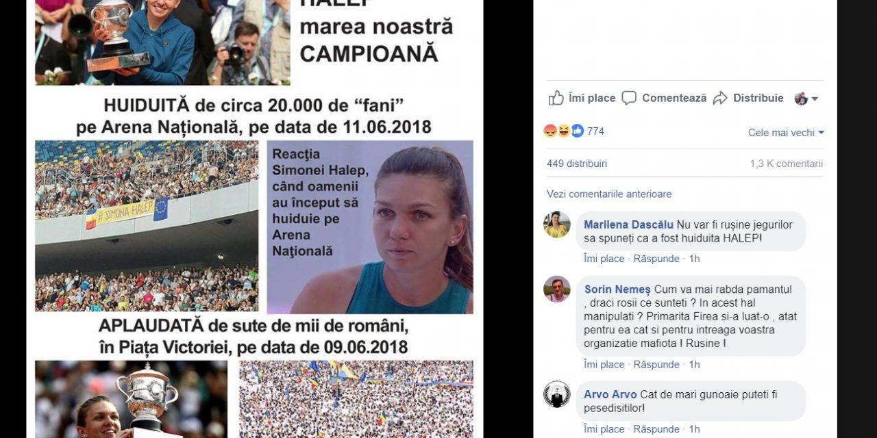Ce le-au transmis constănțenii pesediștilor după postarea cu Simona Halep. Mesaje călduroase…