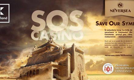 """Neversea a lansat campania """"SOS Cazino"""" ce are ca scop reabilitarea clădirii simbol a Constanței"""