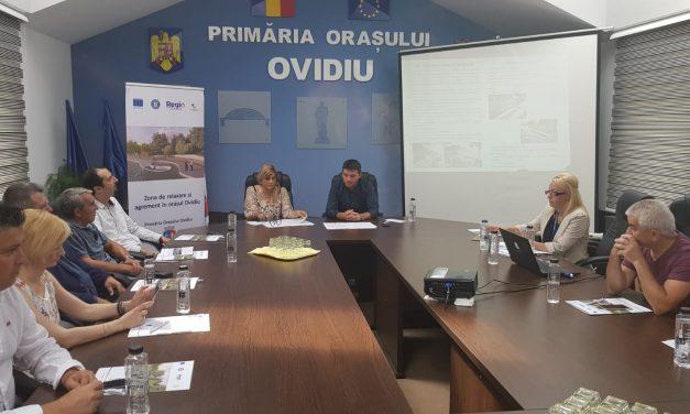 Orașul Ovidiu va avea două noi parcuri de relaxare și agrement