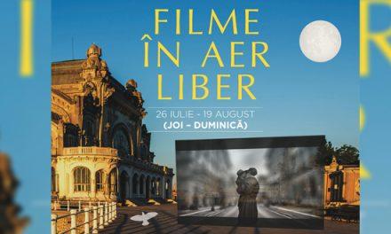 Filme în aer liber pe Faleza Cazino și în Piața Ovidiu. Intrarea este liberă