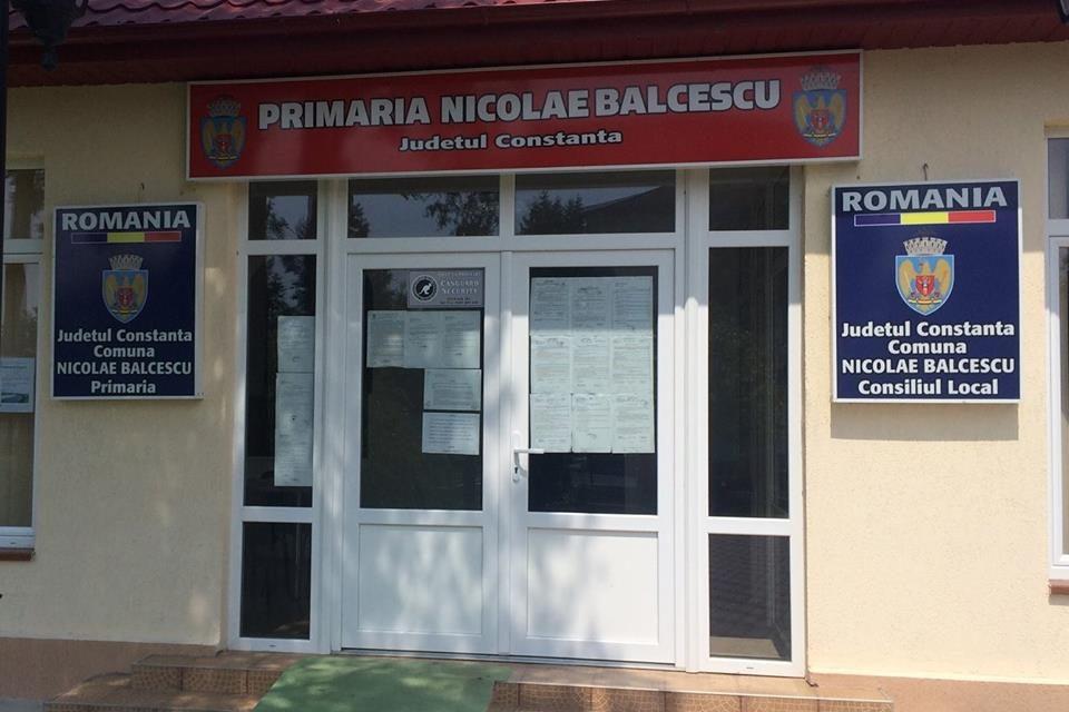 Anunț – Primăria Nicolae Bălcescu