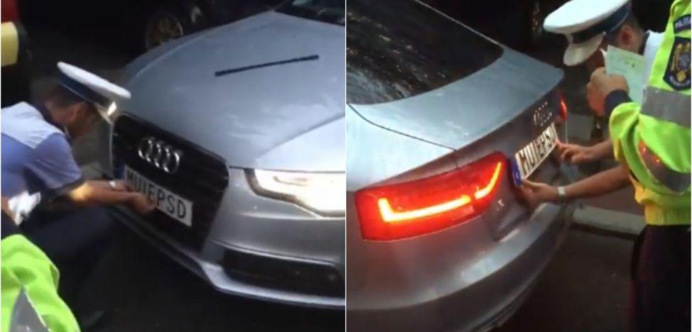 Poliția Rutieră Română primește o lovitură uriașă. ONU face clarificări în cazul șoferului cu numere anti-PSD