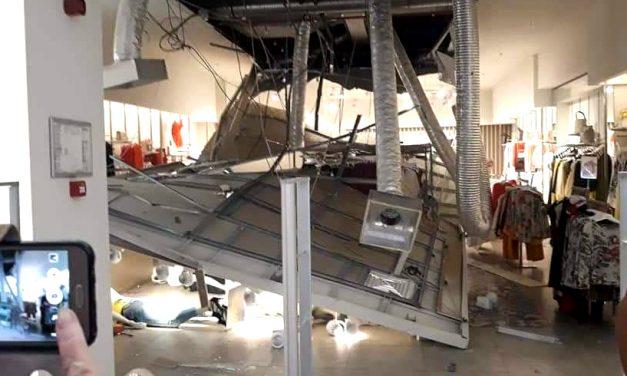 """Eschivă ca la mall. Conducerea City Park despre tavanul căzut: """"Responsabilitatea le revine chiriașilor"""""""